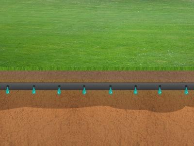 Rasen unterirdisch bewässern