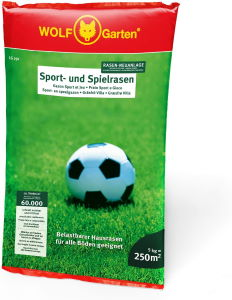 Sport- und Spielrasen mit Lolium perenne