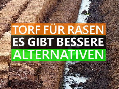 Torf für Rasen Alternativen